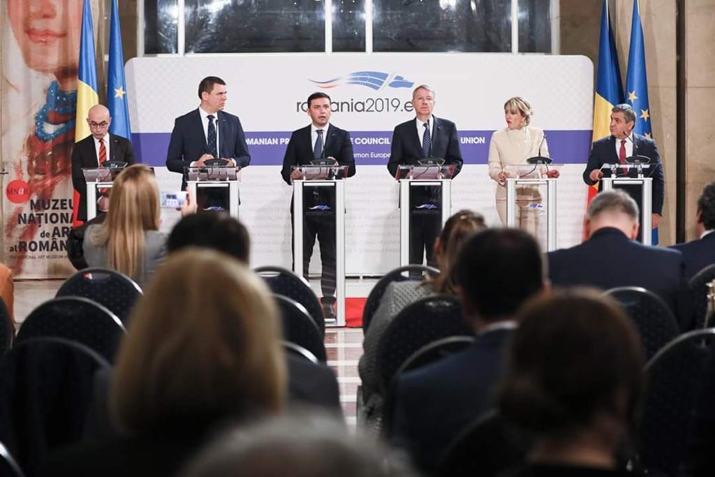 Catering pentru Consiliul UE la București